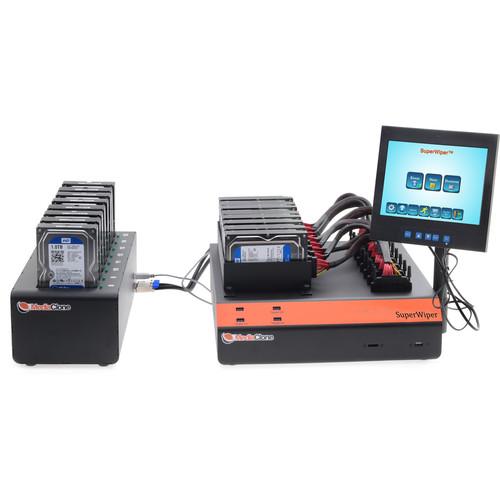 MediaClone SuperWiper Desktop 16 SAS/SATA 10-USB Fast Drive Eraser