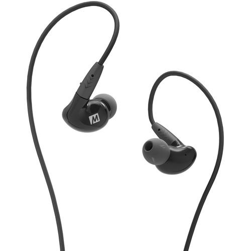 MEE audio Pinnacle P2 In-Ear Headphones with Detachable Cable (Black)
