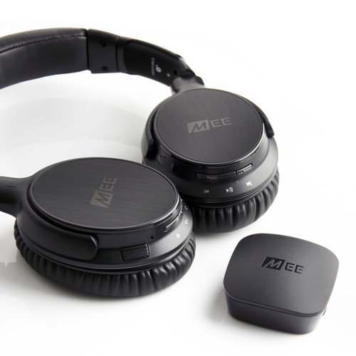 MEE audio Connect Bluetooth Wireless Headphone System (Black)