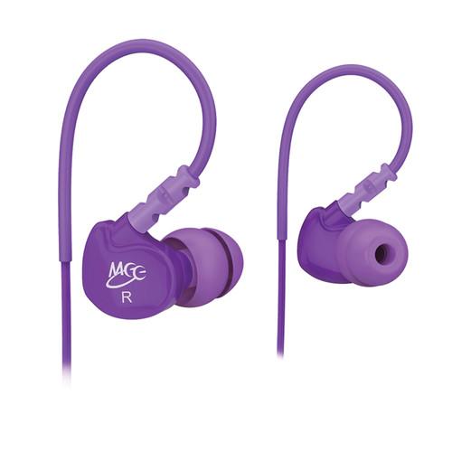 MEE audio Sport-Fi M6 Memory Wire In-Ear Headphones (Purple)
