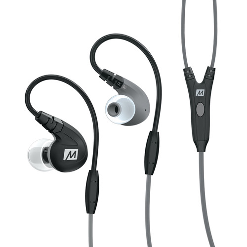 MEElectronics M7P Secure-Fit Sports In-Ear Headphones (Black)