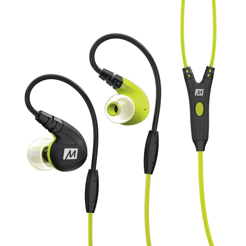 MEElectronics M7P Secure-Fit Sports In-Ear Headphones (Green)