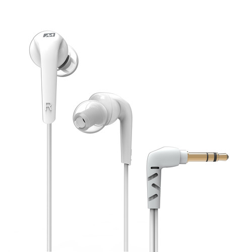 MEElectronics RX18 Comfort-Fit In-Ear Headphones (White)