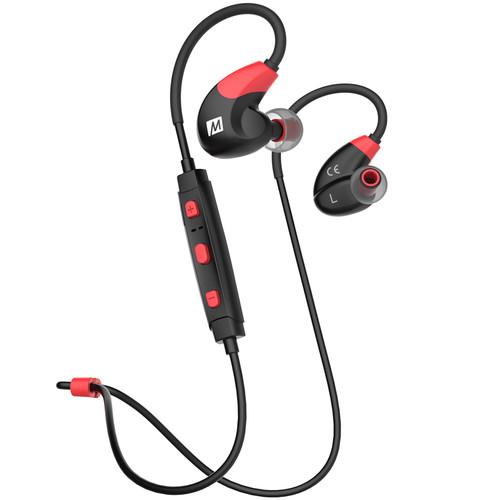 MEE audio X7 Bluetooth In-Ear Sport Headphones (Red)