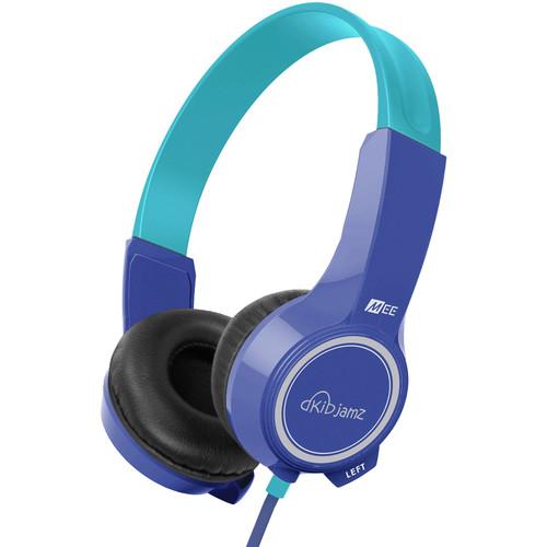MEElectronics KidJamz KJ25 Safe Listening Headphones (Blue)