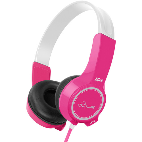 MEE audio KidJamz KJ25 Safe Listening Headphones (Pink)