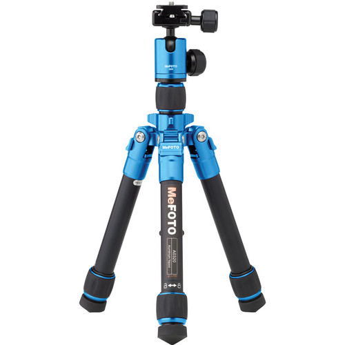 MeFOTO DayTrip Tripod Kit (Blue)