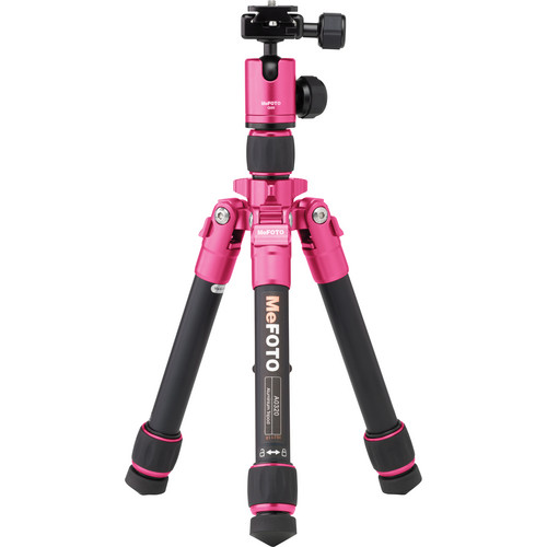 MeFOTO DayTrip Tripod Kit (Hot Pink)