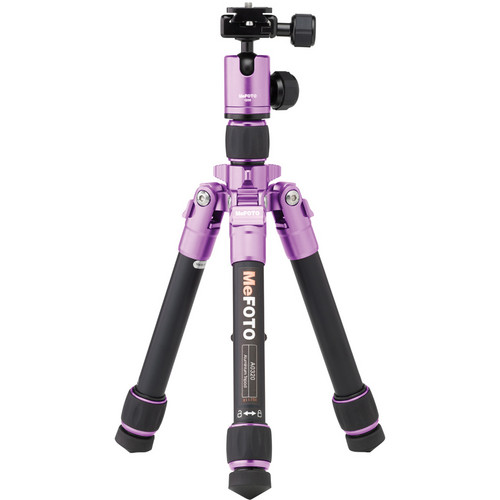 MeFOTO DayTrip Tripod Kit (Purple)
