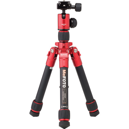 MeFOTO DayTrip Tripod Kit (Red)