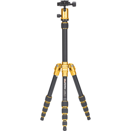 MeFOTO BackPacker Travel Tripod (Yellow)