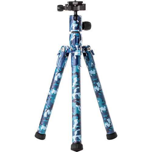 MeFOTO BackPacker Air Travel Tripod (Blue Camo)