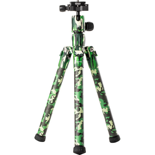 MeFOTO BackPacker Air Travel Tripod (Green Camo)