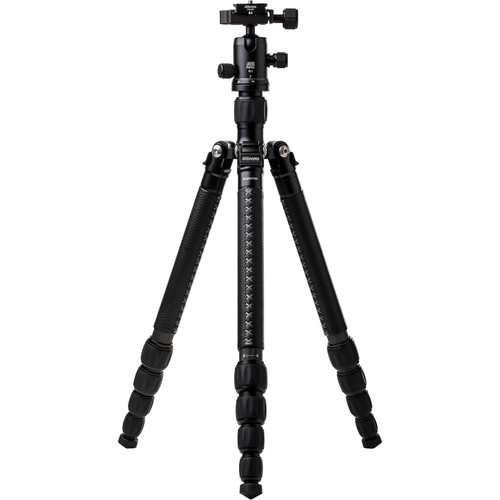 MeFOTO RoadTrip Classic Leather Edition Tripod (Carbon Fiber, Black with Black Leather)