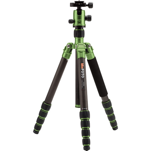 MeFOTO GlobeTrotter Carbon Fiber Travel Tripod Kit (Green)