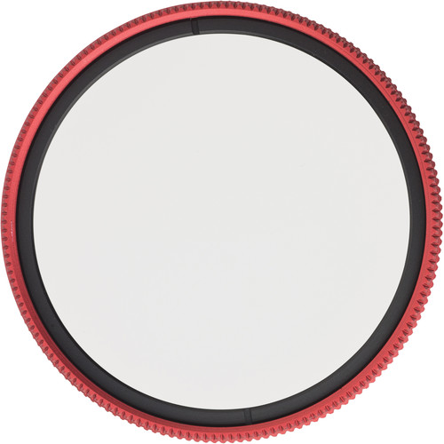 MeFOTO 49mm Wild Blue Yonder Circular Polarizer Filter (Red)