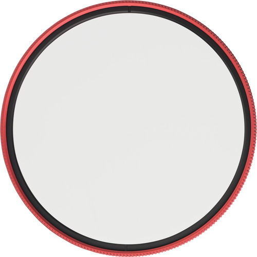 MeFOTO 77mm Wild Blue Yonder Circular Polarizer Filter (Red)