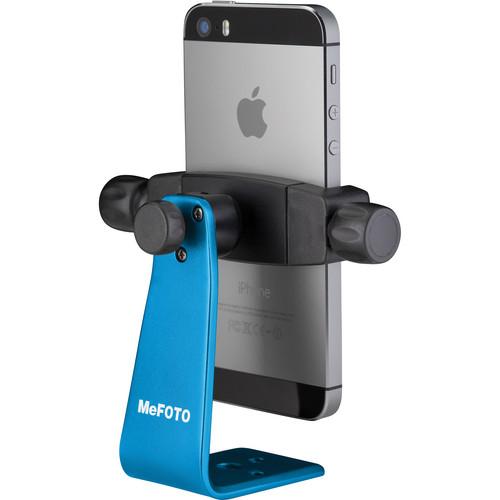 MeFOTO SideKick360 Smartphone Tripod Adapter (Blue)