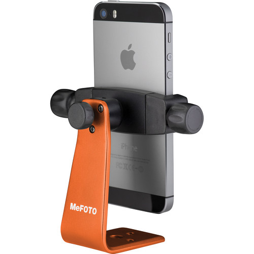 MeFOTO SideKick360 Smartphone Tripod Adapter (Orange)