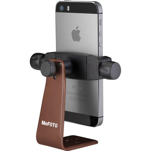 MeFOTO SideKick360 Smartphone Tripod Adapter (Chocolate)