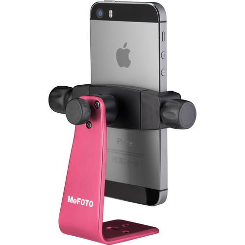 MeFOTO SideKick360 Smartphone Tripod Adapter (Hot Pink)