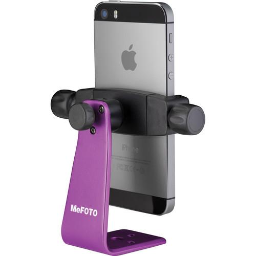 MeFOTO SideKick360 Smartphone Tripod Adapter (Purple)