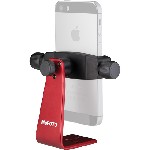 MeFOTO SideKick360 Smartphone Tripod Adapter (Red)