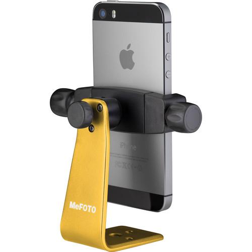MeFOTO SideKick360 Smartphone Tripod Adapter (Yellow)
