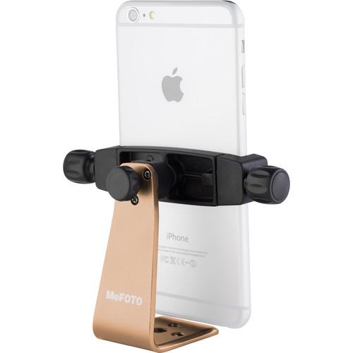 MeFOTO SideKick360 Plus Smartphone Tripod Adapter (Gold)