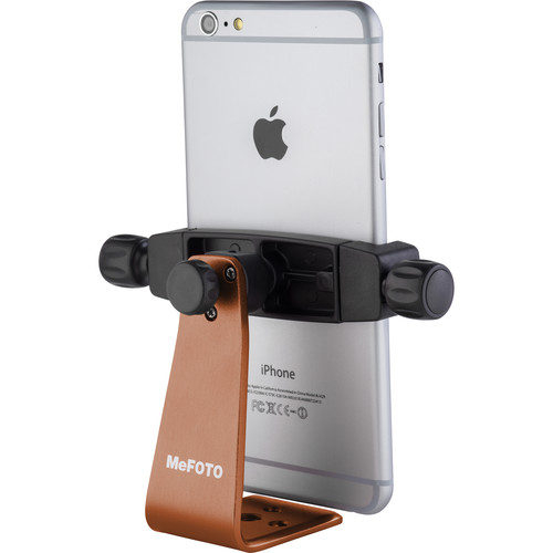 MeFOTO SideKick360 Plus Smartphone Tripod Adapter (Chocolate)