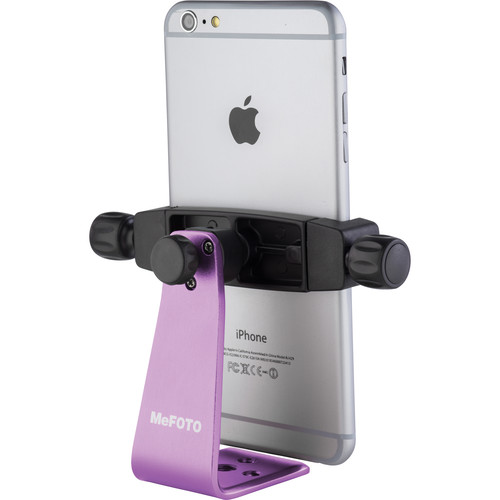MeFOTO SideKick360 Plus Smartphone Tripod Adapter (Purple)