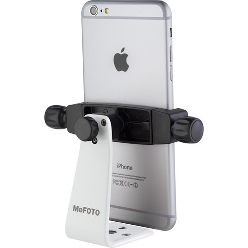 MeFOTO SideKick360 Plus Smartphone Tripod Adapter (White)