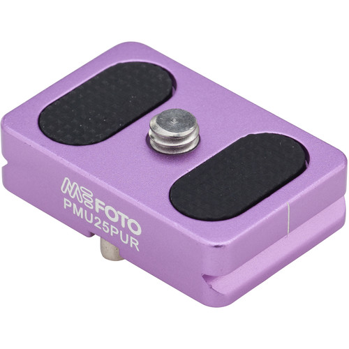 MeFOTO BackPacker Air Quick Release Plate (Purple)