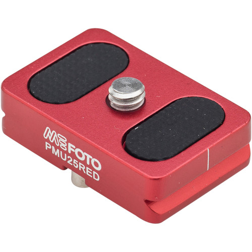 MeFOTO BackPacker Air Quick Release Plate (Red)