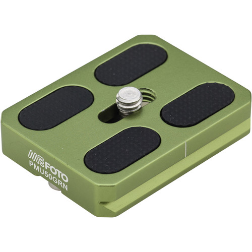 MeFOTO RoadTrip and GlobeTrotter Air Quick Release Plate (Green)