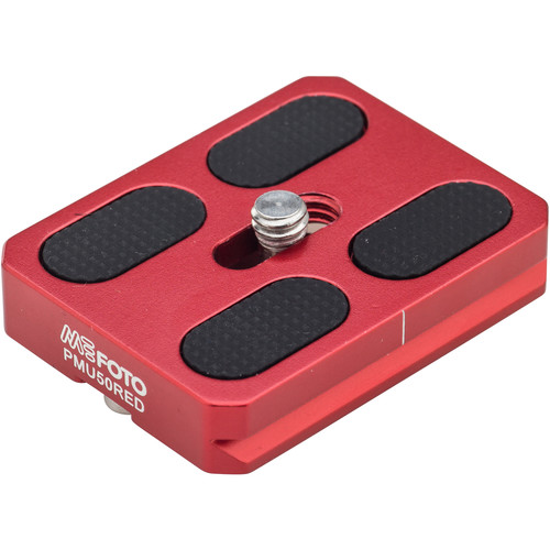 MeFOTO RoadTrip and GlobeTrotter Air Quick Release Plate (Red)