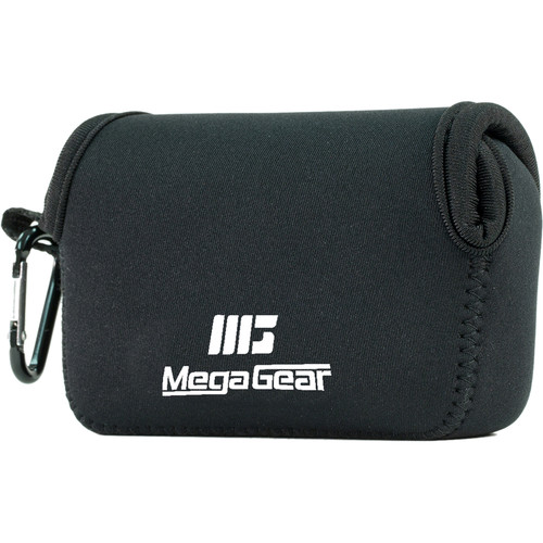 MegaGear MG021 Ultra Light Neoprene Case for Select Sony and Canon Cameras (Black)