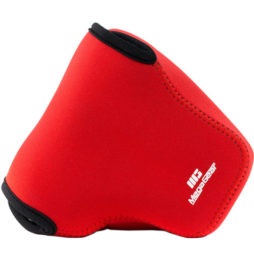 MegaGear MG052 Ultra Light Neoprene Case for Select Nikon Cameras (Red)