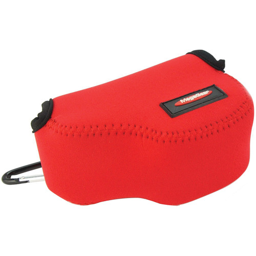MegaGear MG072 Ultra Light Neoprene Case and Bag for Select Sony Cameras (Red)