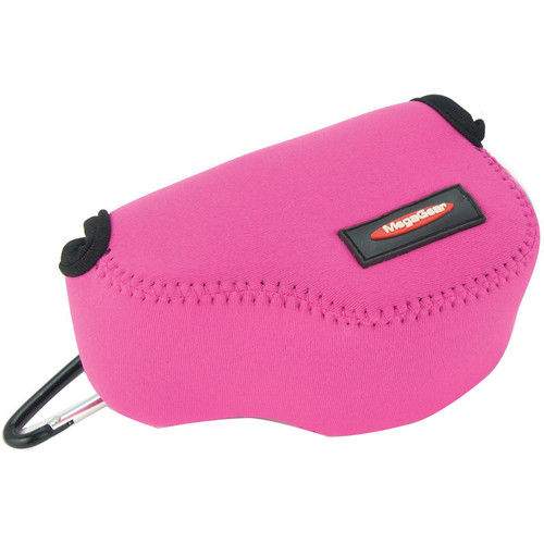 MegaGear MG073 Ultra Light Neoprene Case and Bag for Select Sony Cameras (Hot Pink)