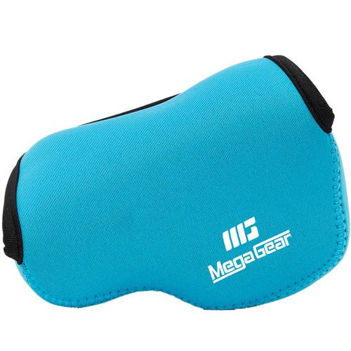 MegaGear Ultralight Neoprene Case for Select Sony Cameras (Blue)