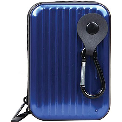 MegaGear Ultra Light Aluminum Case for Select Sony/Canon/Nikon/Panasonic Cameras (Blue)