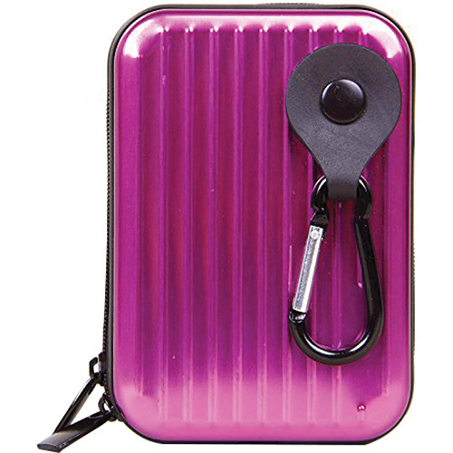 MegaGear Ultra Light Aluminum Case for Select Sony/Canon/Nikon/Panasonic Cameras (Hot Pink)