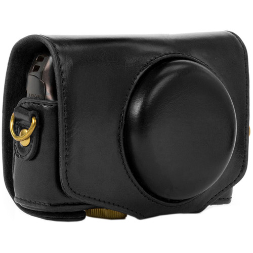 MegaGear MG351 Every Ready Camera Case with Strap for Canon PowerShot SX720 HS (Black)