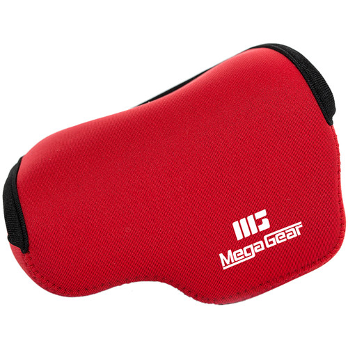 MegaGear MG377 Ultra Light Neoprene Case and Bag for Samsung NX3000 with 20-50mm Lens (Red)