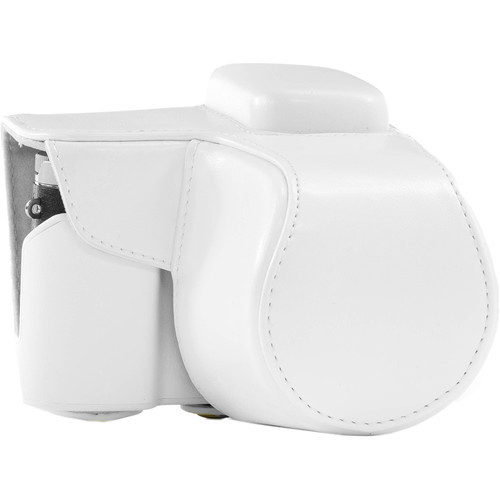 MegaGear MG399 Ever Ready Protective Camera Case for Samsung NX3000 with 20-50mm Lens (White)