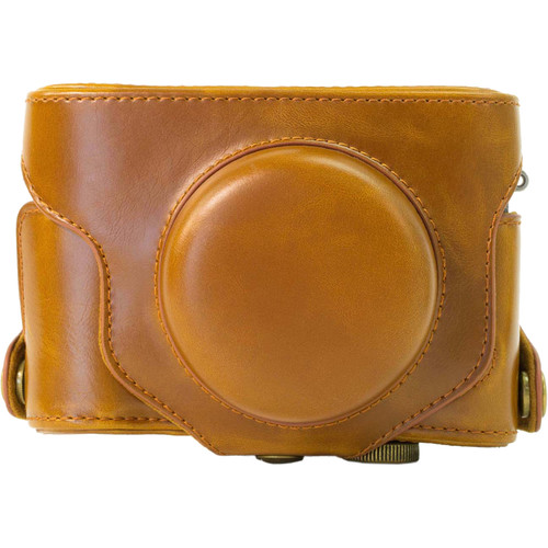 MegaGear MG424 Ever Ready Protective Camera Case for Fujifilm X30 12 MP (Light Brown)