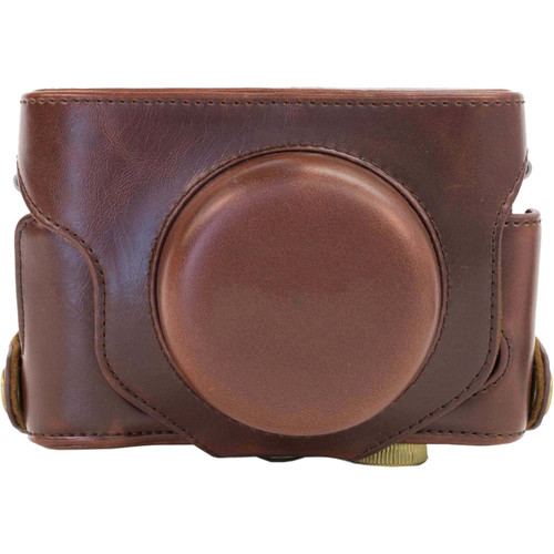 MegaGear MG425 Ever Ready Protective Camera Case for Fujifilm X30 12 MP (Dark Brown)