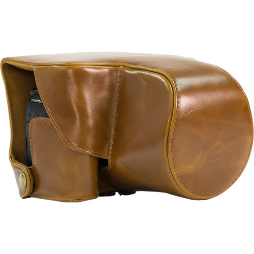 MegaGear MG442 Ever Ready Protective Camera Case for Panasonic FZ1000 (Light Brown)