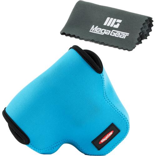 MegaGear Ultralight Neoprene Camera Case for Canon PowerShot SX60 (Blue)
